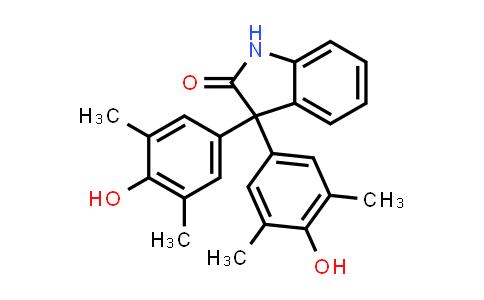 3,3-Bis-(3,5-dimethyl-4-hydroxyphenyl)-1,3-dihydro-indol-2-one