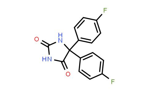 5,5-Bis(4-fluorophenyl)-2,4-imidazolidinedione