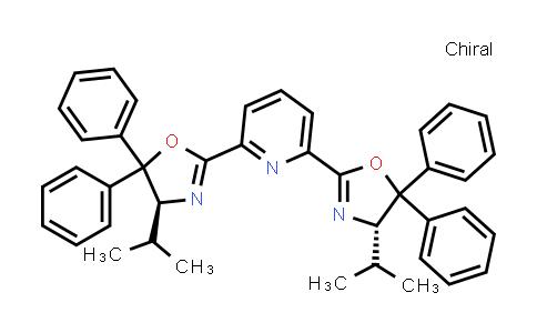 2,6-Bis[(4S)-4,5-dihydro-4-(1-methylethyl)-5,5-diphenyl-2-oxazolyl]pyridine