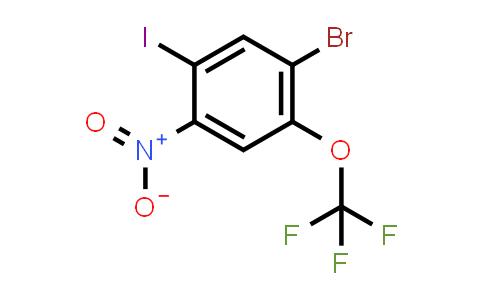 1-BroMo-5-iodo-4-nitro-2-(trifluoroMethoxy)benzene