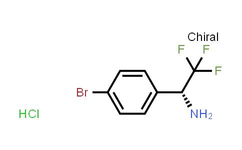 (R)-1-(4-Bromophenyl)-2,2,2-trifluoroethanamine hydrochloride