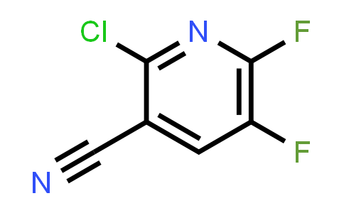 2-Chloro-5,6-difluoro-3-pyridinecarbonitrile