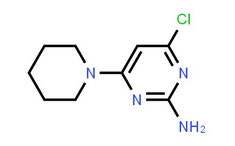 4-Chloro-6-piperidin-1-yl-pyrimidin-2-ylamine