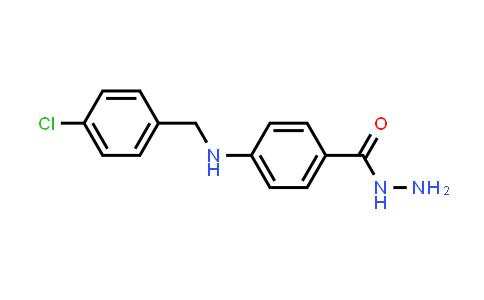 4-[(4-Chlorobenzyl)amino]benzohydrazide
