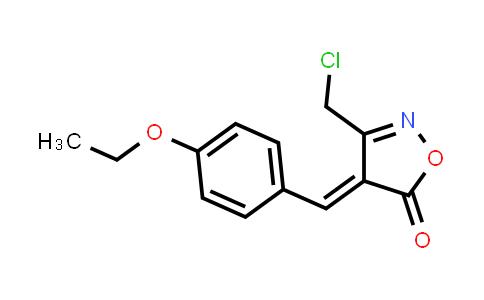 (4E)-3-(Chloromethyl)-4-(4-ethoxybenzylidene)isoxazol-5(4H)-one