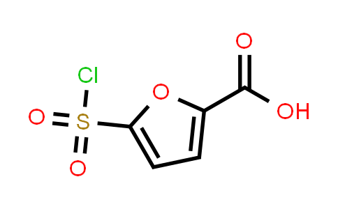 5-(Chlorosulfonyl)-2-furancarboxylicacid