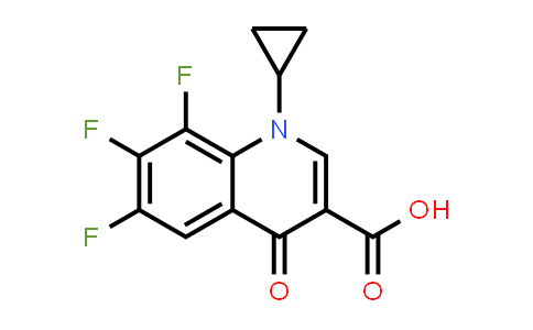 1-Cyclopropyl-6,7,8-trifluoro-4-oxo-1,4-dihydroquinoline-3-carboxylic acid