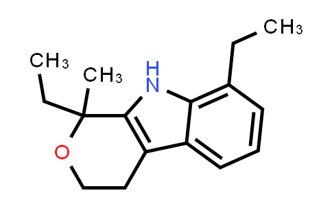 1,8-Diethyl-1,3,4,9-tetrahydro-1-methylpyrano[3,4-b]indole