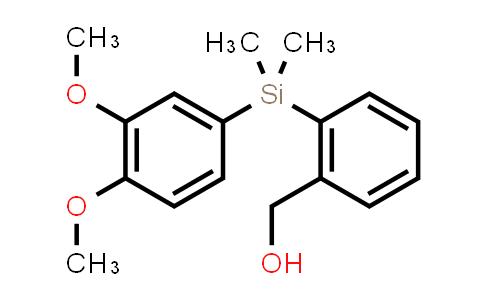 {2-[(3,4-DiMethoxy-phenyl)-diMethyl-silanyl]-phenyl}-Methanol