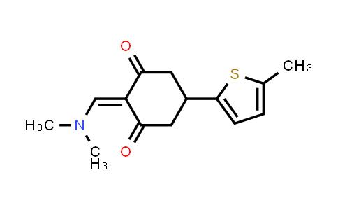 2-[(Dimethylamino)methylene]-5-(5-methyl-2-thienyl)cyclohexane-1,3-dione