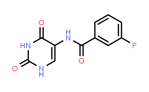 N-(2,4-Dioxo-1,2,3,4-Tetrahydro-5-Pyrimidinyl)-3-Fluorobenzamide