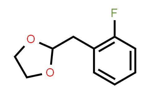 2-(1,3-Dioxolan-2-Ylmethyl)-1-Fluorobenzene