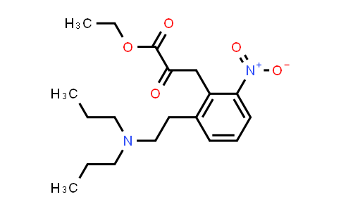 2-[2-(Dipropylamino)ethyl]-6-nitro-alpha-oxobenzenepropanoic acid ethylester