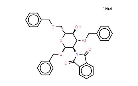 Benzyl 2-deoxy-2-phthalimido-3,6-di-O-benzyl-b-D-glucopyranoside