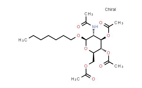 Heptyl 2-acetamido-3,4,6-tri-O-acetyl-2-deoxy-b-D-glucopyranoside