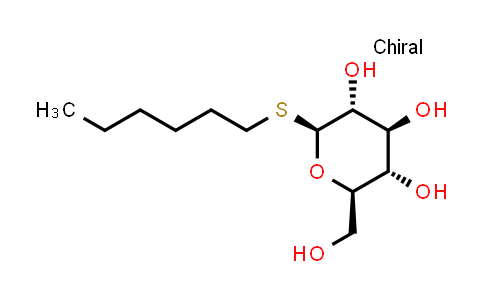 Hexyl b-D-thioglucopyranoside