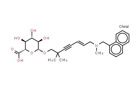 Hydroxyterbinafine b-D-glucuronide