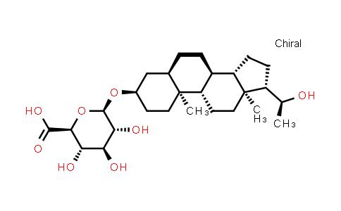 Pregnanediol 3a-O-b-D-glucuronide