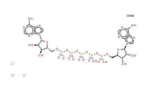 P1,P5-Di(adenosine-5')pentaphosphate trilithium salt