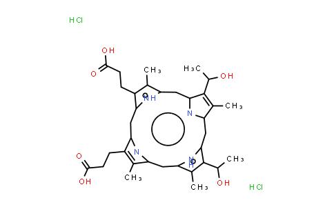 Hematoporphyrin dihydrochloride
