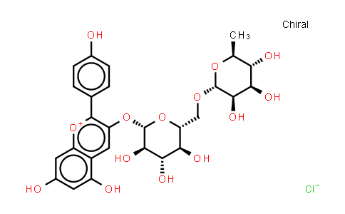 Pelargonidin-3-O-rutinoside chloride