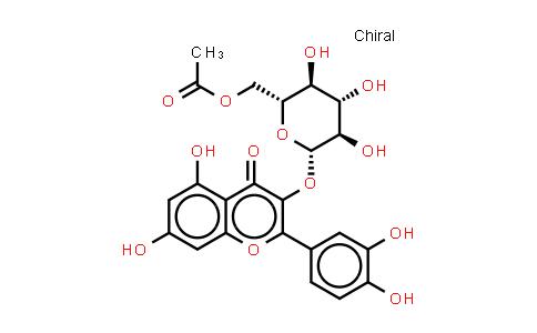 Quercetin-3-O-beta-D-glucopyranosyl-6