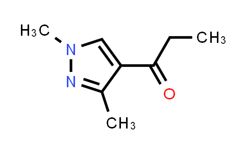 1-(1,3-dimethylpyrazol-4-yl)propan-1-one