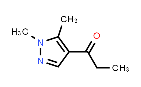 1-(1,5-dimethylpyrazol-4-yl)propan-1-one
