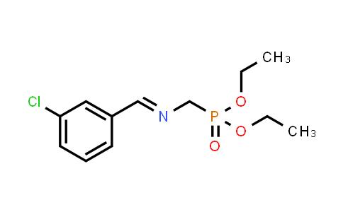 1-(3-chlorophenyl)-N-(diethoxyphosphorylmethyl)methanimine