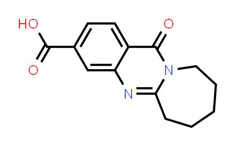 12-oxo-7,8,9,10-tetrahydro-6H-azepino[2,1-b]quinazoline-3-carboxylic acid