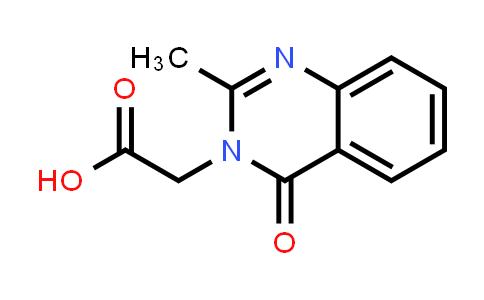 2-(2-Methyl-4-oxo-quinazolin-3-yl)acetic acid