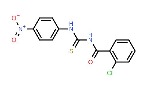 2-Chloro-N-[(4-nitrophenyl)carbamothioyl]benzamide