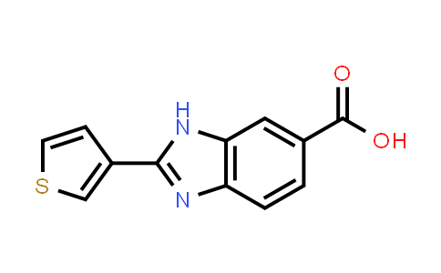 2-Thiophen-3-yl-3H-benzoimidazole-5-carboxylic acid
