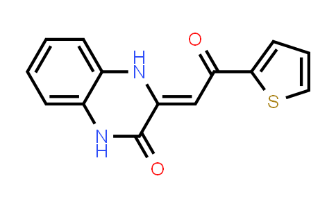 3-(2-Oxo-2-thiophen-2-yl-ethylidene)-3,4-dihydro-1H-quinoxalin-2-one