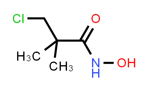 3-Chloro-2,2-dimethyl-propanehydroxamic acid