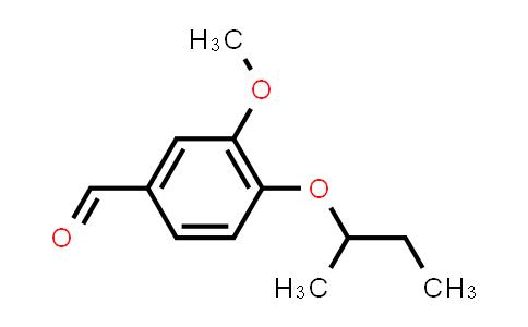 3-Methoxy-4-sec-butoxy-benzaldehyde