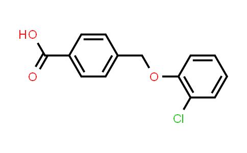 4-[(2-Chlorophenoxy)methyl]benzoic acid