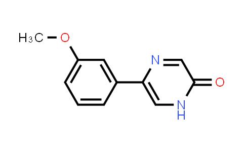 5-(3-Methoxy-phenyl)-1H-pyrazin-2-one