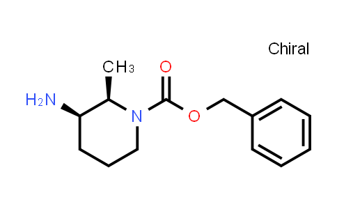 Benzyl (2R,3R)-3-amino-2-methyl-piperidine-1-carboxylate