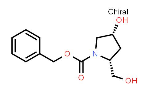 Benzyl (2R,4R)-4-hydroxy-2-(hydroxymethyl)pyrrolidine-1-carboxylate