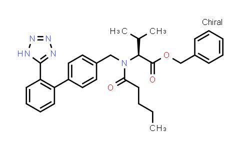 Benzyl (2S)-3-methyl-2-[pentanoyl-[[4-[2-(1H-tetrazol-5-yl)phenyl]phenyl]methyl]amino]butanoate