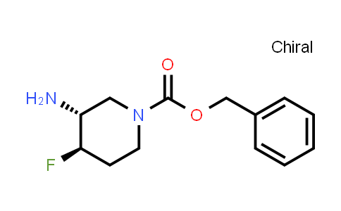 Benzyl (3R,4R)-3-amino-4-fluoro-piperidine-1-carboxylate