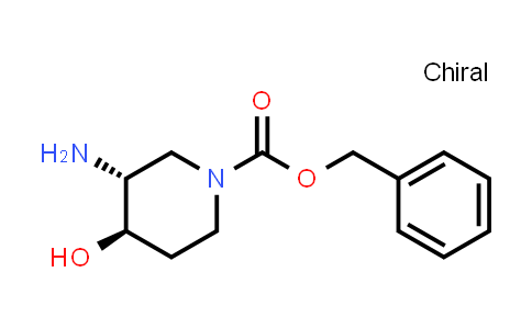 Benzyl (3R,4R)-3-amino-4-hydroxy-piperidine-1-carboxylate