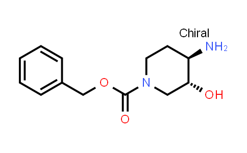 Benzyl (3R,4R)-4-amino-3-hydroxy-piperidine-1-carboxylate