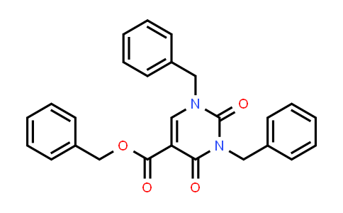 Benzyl 1,3-dibenzyl-2,4-dioxo-pyrimidine-5-carboxylate