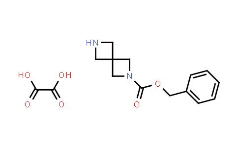 Benzyl 2,6-diazaspiro[3.3]heptane-6-carboxylate; oxalic acid