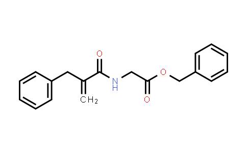 Benzyl 2-(2-benzylprop-2-enoylamino)acetate