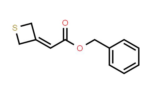 Benzyl 2-(thietan-3-ylidene)acetate