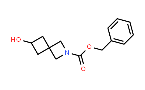 Benzyl 2-hydroxy-6-azaspiro[3.3]heptane-6-carboxylate