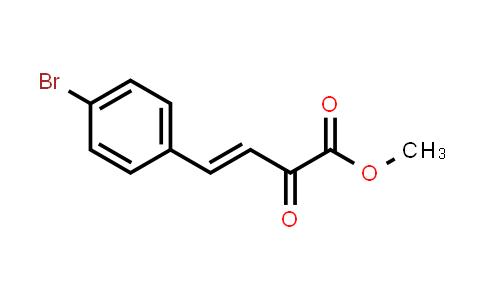 methyl (E)-4-(4-bromophenyl)-2-oxo-but-3-enoate